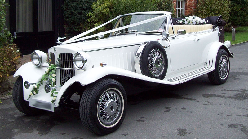 Corby Beauford Wedding Car