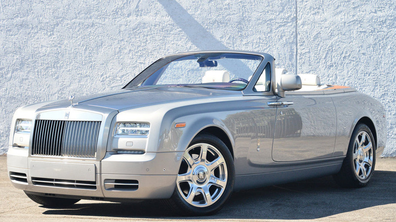 Corby Rolls Royce Phantom Wedding Car